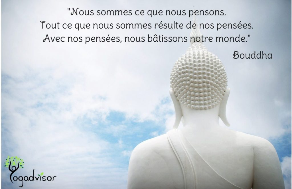 Citation de Bouddha sur la Loi de l'attraction